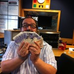 Gave away a grand every Friday on Key 103
